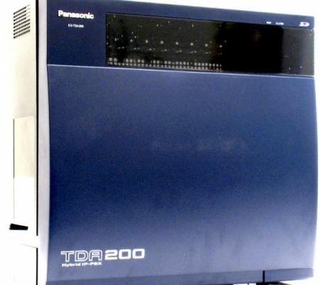 Central Telefónica Panasonic KX-TDA200